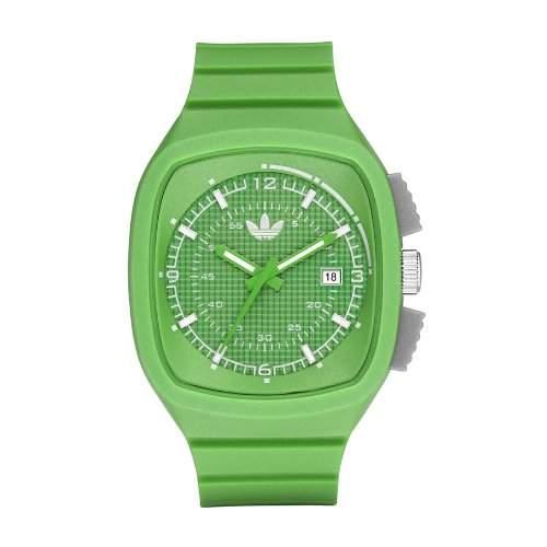 ORIGINAL Adidas Originals Unisex Green Analogue Toronto Watch - ADH2113