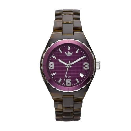 Adidas Damen-Armbanduhr XS Analog Plastik ADH2548