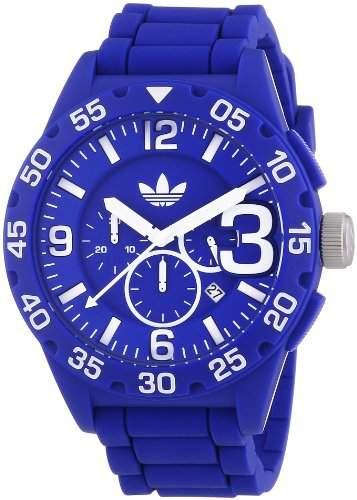 Adidas Herren-Armbanduhr XL Newburgh Chronograph Quarz Silikon ADH2794