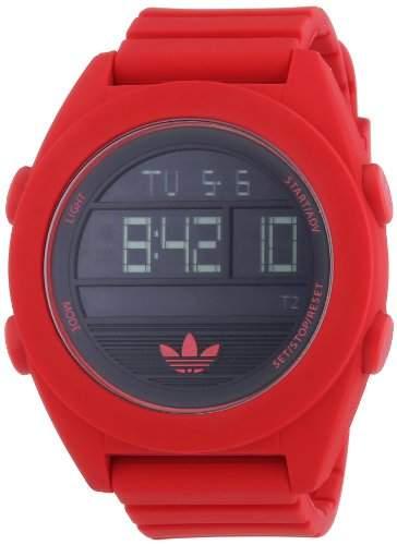 adidas Herren-Armbanduhr XL Calgry Digital Quarz Silikon ADH2909