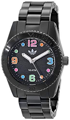 Uhr Adidas Original Brisbane Adh2943 Damen Schwarz