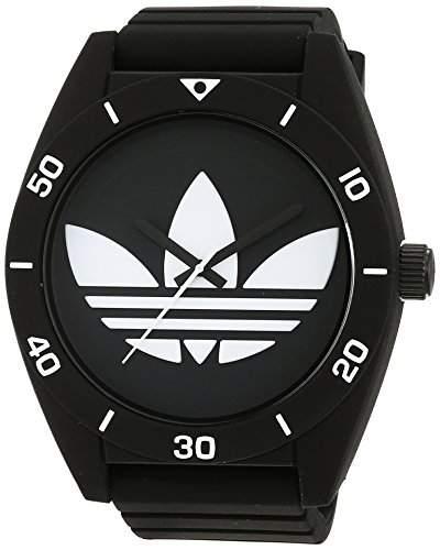 Adidas Herren-Armbanduhr Analog Quarz Silikon ADH2967