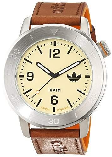 Adidas Herren-Armbanduhr Analog Quarz Leder ADH2971