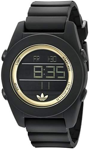 Uhr Adidas Calgary Adh2987 Damen Schwarz