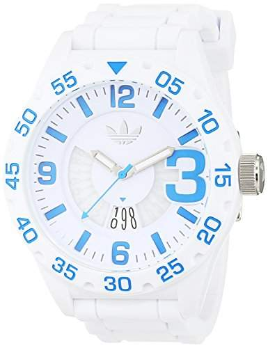 Adidas Herren-Armbanduhr Analog Quarz Silikon ADH3012
