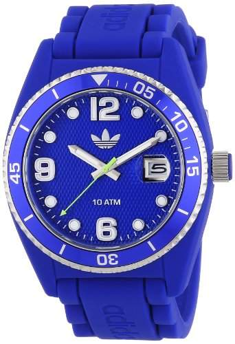 adidas Herren-Armbanduhr XL Analog Quarz Silikon ADH6153