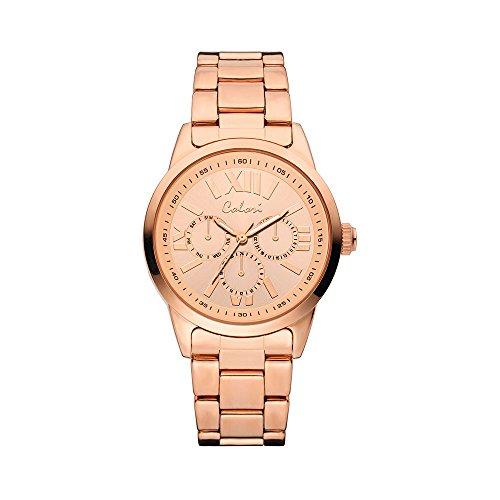 Colori Watch Damenuhr Supreme Metallarmband 40mm rose