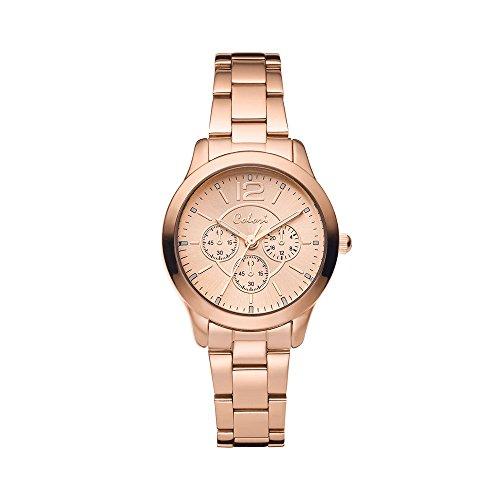 Colori Watch Damenuhr Supreme Metallarmband schmal 37mm rose