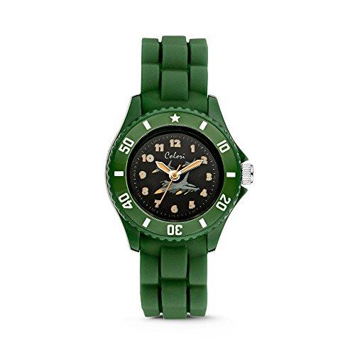 Colori Watch Jungenuhr Kidz 30mm gruen