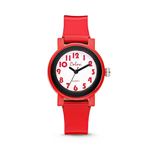 Colori Watch Kinderuhr Sports Time 28mm rot