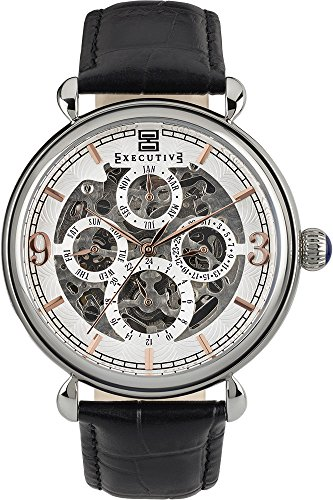 Executive Morning Grey fuer Maenner Armbanduhr Analog Automatisch EX 1015 01