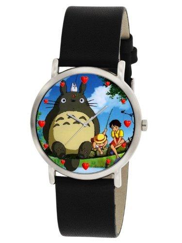 Totoro Vintage 1990 Early Japanische Manga Art Collectible Unisex Armbanduhr