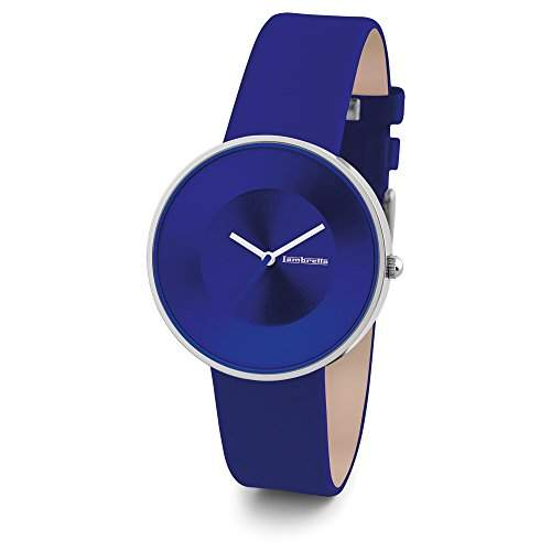 "Lambretta ""Cielo Blau"" Edelstahl Leder Blue Frau Uhr"