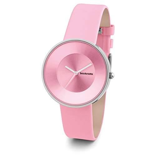 "Lambretta ""Cielo Pink"" Edelstahl Leder pink Frau Uhr"