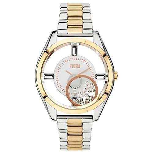STORM Damen-Armbanduhr Analog edelstahl Gold 47211GD