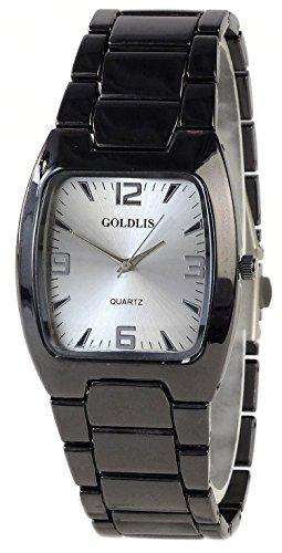 Elegante Unisex Armbanduhr mit Stahlarmband