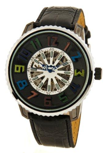 Stylische Skelett Automatik Uhr