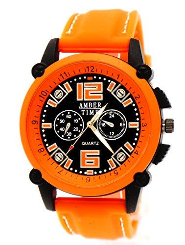 Silikonarmband Orange