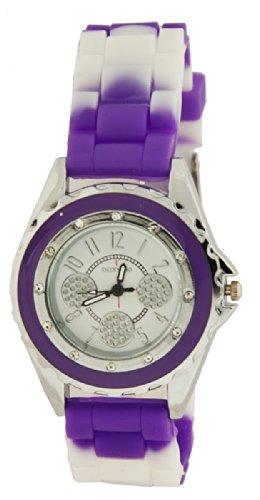 FRESH Damen Armband Uhr Lila