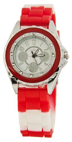 FRESH Damen Armband Uhr Rot