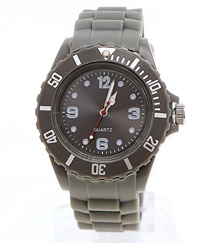 Schlichte Sportliche Moderne Armbanduhr Grau