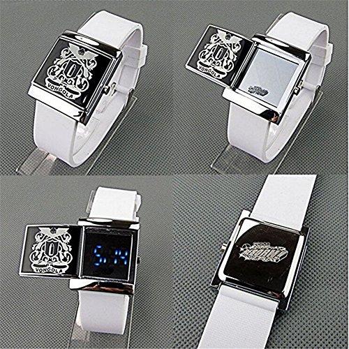 Bonamana Anime Hitman Reborn LED Uhr mit Cool LED im Geschenkkarton