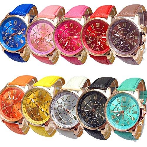 Damen Grosshandel von 10 sortiert Platinum Armbanduhr Mode