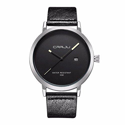 lintimes Fashion Casual Uhren Sport Stecker Handgelenk Uhren mit Silber Fall