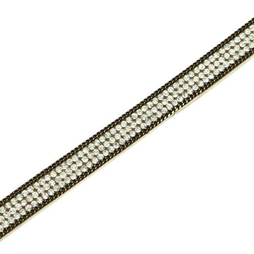 Daphnee und Compagnie Damen Armband Leder weiss mit DAPHNEE 1212