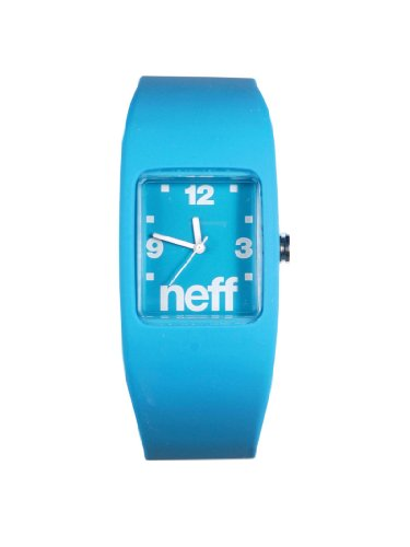 Neff Bandit Watch Uhr Cyan Blue L XL