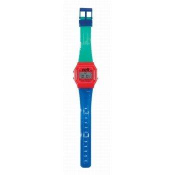 Neff Flava Watch Uhr Magenta Cyan Blue Blue