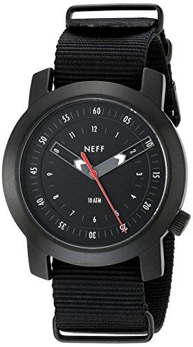 Neff Herren nf0235gmbk Tactical Analog Display Japanisches Quarz Grau Armbanduhr