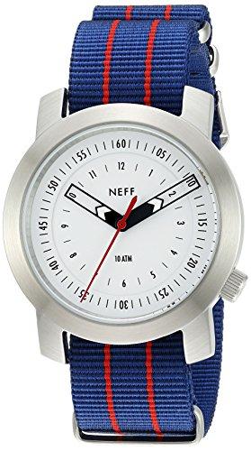 Neff Unisex NF0235SLNV Taktische Analoganzeige Japanische Quarz Zwei Ton Uhr
