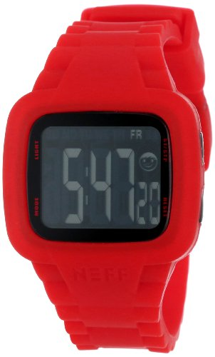 Neff Unisex Armbanduhr Digital Quarz Rot NF0207RD