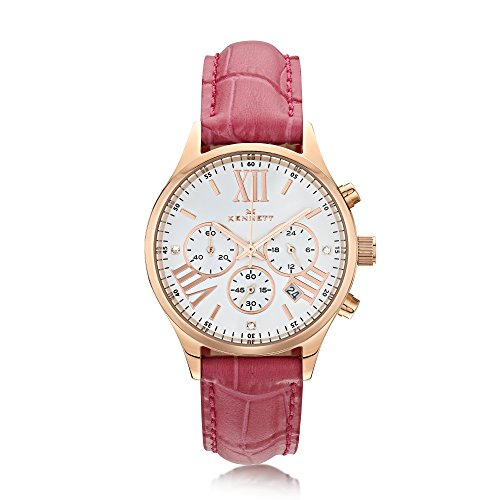 Kennett Damen Lady savro Rose Gold Hot Pink Empire lsergwhhtpk