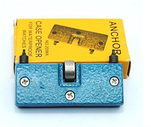 Fandecie Uhr Einstellbarer OEffner zurueck Fall Press Closer Remover Reparatur Werkzeug Uhrmacher