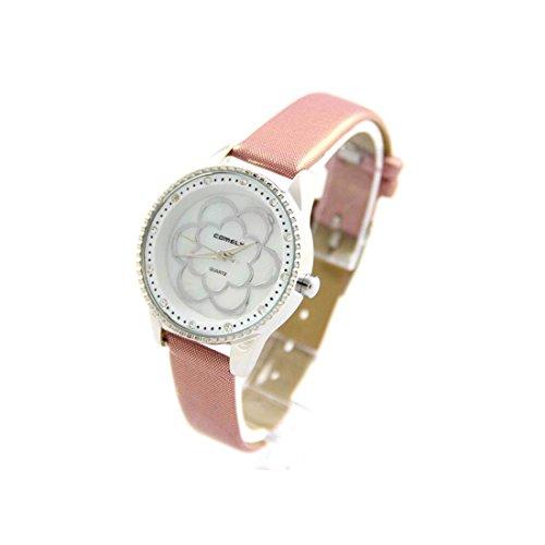 Zeigt Damen Armband Leder lila COMELY 403