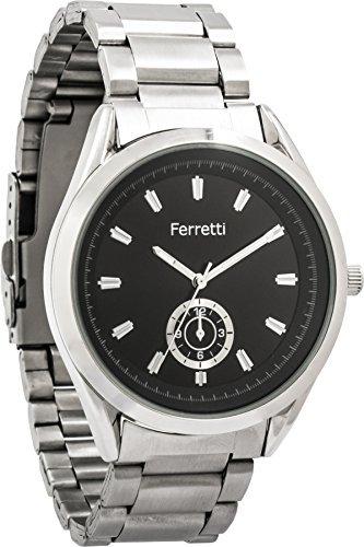 Ferretti Mens FT12501 Classic Stahl