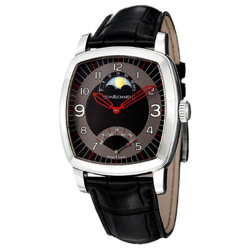 Daniel Jeanrichard Tv Screen Moon Phases Herren 38mm Uhr 46016 11 62A AA6