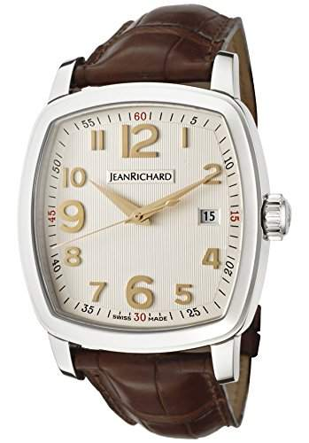 Jean Richard Tv Screen Herren 39mm Automatikwerk Datum Uhr 60116-11-10A-AAED