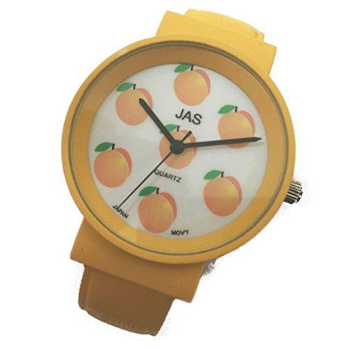 Jas Armreif Uhr Damen FROOTY Perfekt Pfirsich