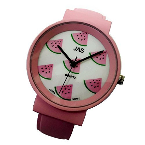 Jas Armreif Uhr Damen FROOTY wundervolle Wassermelone