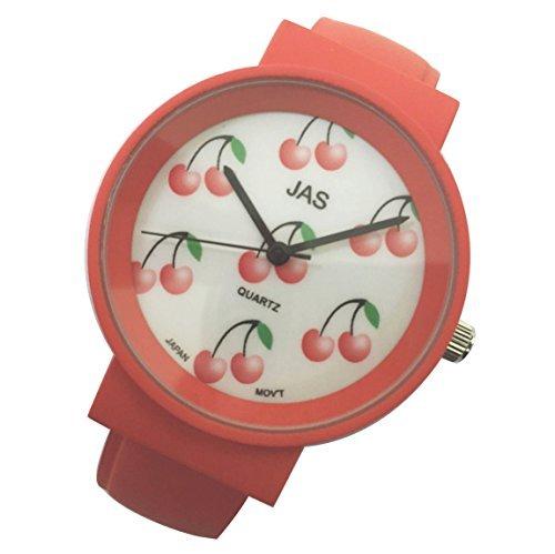 Jas Armreif Uhr Damen FROOTY Cherry