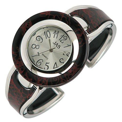 Jas Damen Armbanduhr WOW rund Crimson