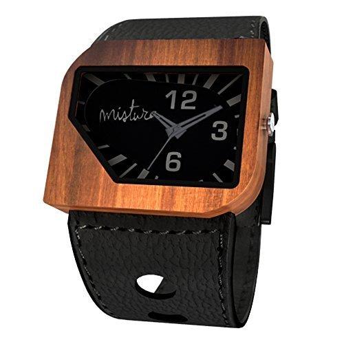 Mistura avblkphant Avanti PUI Holz schwarz Phantom Armbanduhr
