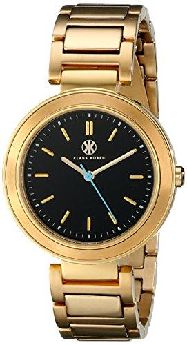 Klaus Kobec Damen kk 10002 04 Daisy Analog Display Japanisches Quartz Gold Watch