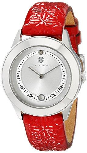 Klaus Kobec Damen kk 10017 03 Christy Analog Display Japanisches Quarz Rot Armbanduhr