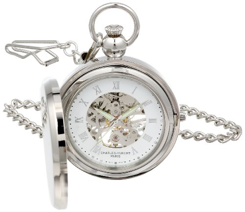 Charles Hubert 3850 Mechanische Bilderrahmen Pocket Watch