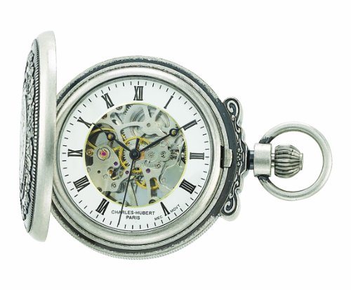 charles hubert Paris 3865 s Classic Collection Antik Finish Hunter Fall Mechanische Taschenuhr