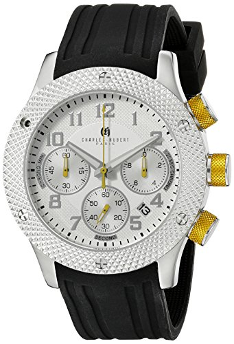 charles hubert Paris Herren 3979 a Premium Collection Analog Display Japanisches Quartz Black Watch